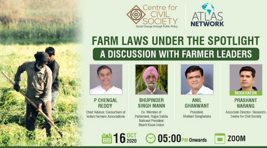 Farm Laws Under the Spotlight A Discussion with Farmer Leaders