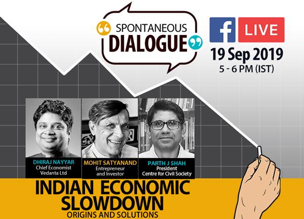 SO Dialogue on the 'Indian Economic Slowdown'