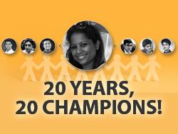 20 years 20 champions