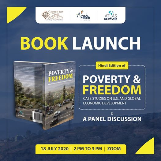 LAUNCH OF THE HINDI EDITION OF 'POVERTY AND FREEDOM: CASE STUDIES ON GLOBAL ECONOMIC DEVELOPMENT