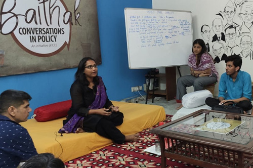 Baithak: Conversations on State Capacity in India