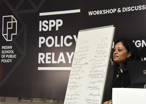 Discussing India's Urban Future: Workshop on Urban Design &  Policy-Making by ISPP
