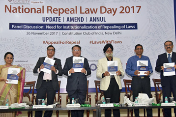 Launch of Compendium on repeal laws for 5 states